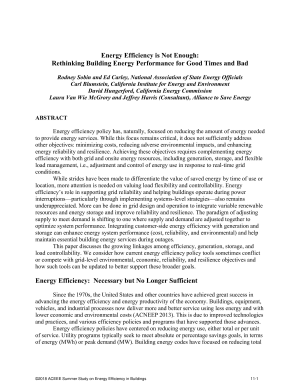 Energy Efficiency is Not Enough: Rethinking Building Energy